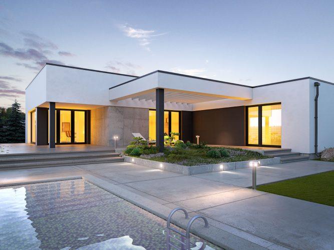 Projekt domu Artus 2 BSE1116