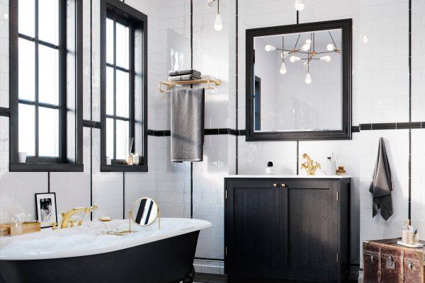 Strefa luksusu, czyli łazienka w stylu glamour